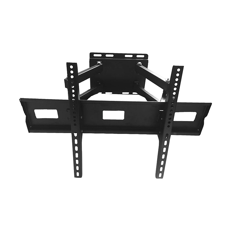 Black powder coated TV bracket