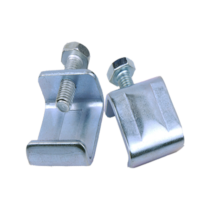 Galvanized steel G-clamp