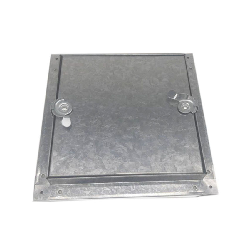 Galvanized access door